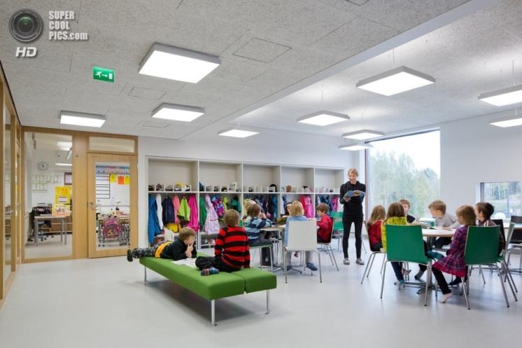 Saunalahti school Espoo Finland